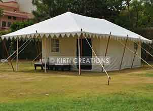 Colonial Swiss Cottage Tent