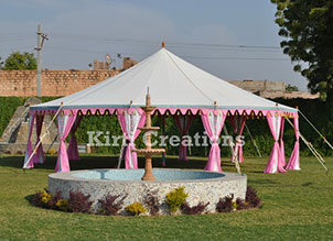 Decorative Maharani Tent