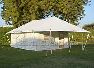 Decorative Swiss Cottage Tent