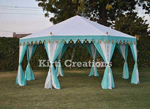 Extravagant Royal Tent