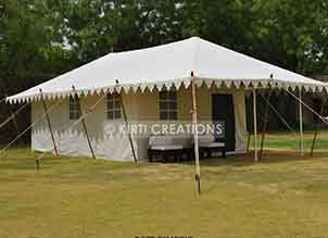 Extravagant Swiss Cottage Tent