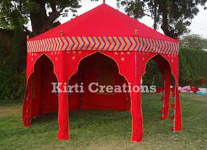 Handcrafted Event Tent