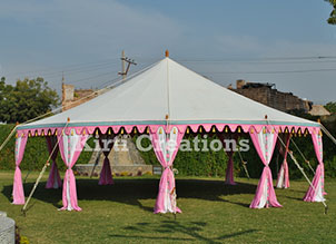 Handcrafted Maharani Tent