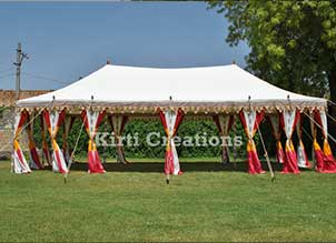 Handcrafted Royal Tent