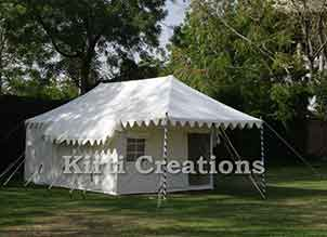 Handcrafted Swiss Cottage Tent