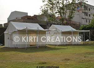 Refined Resort Tent