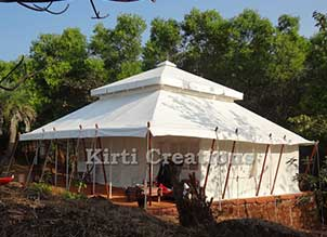Efficient Resort Tent