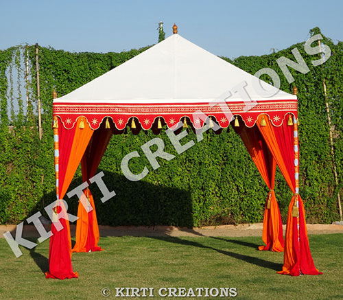Pergola Tent & Raj Tent - Jungle Camping Tent Resorts Tents and Beach Tents