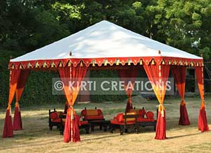 Refined Event Tent