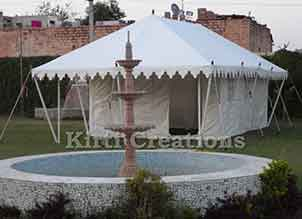Refined Swiss Cottage Tent