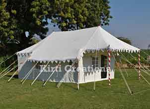 Vibrant  Swiss Cottage Tent